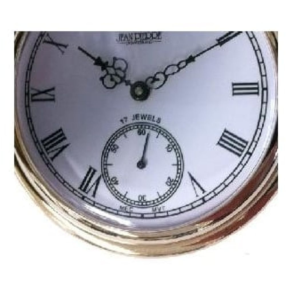 Mechanical Gold Toned Full Hunter Pocket Watch