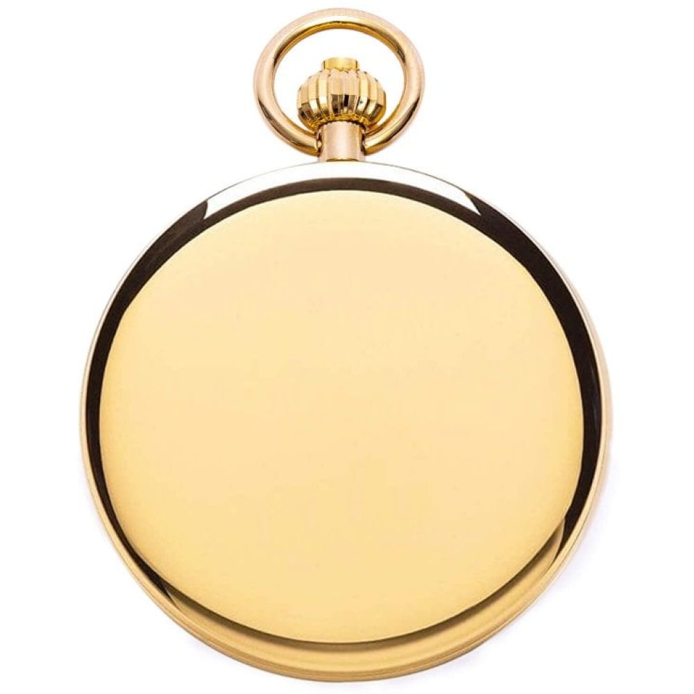 Gold Plated Double Hunter Mechanical Pocket Watch