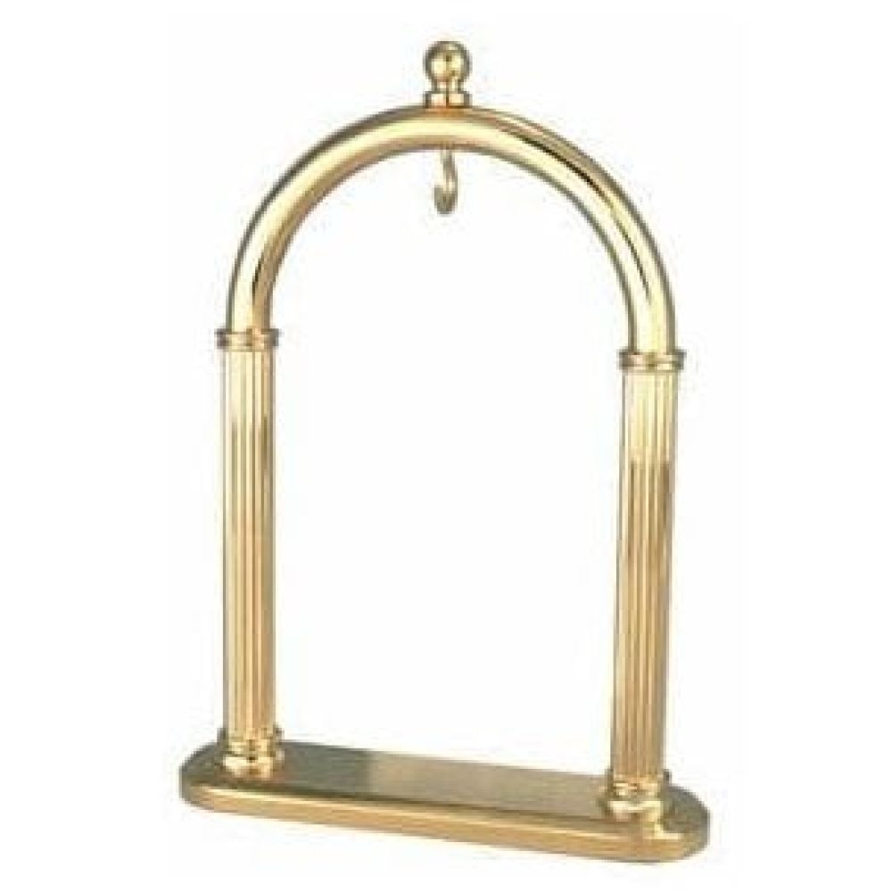 Gold Polished Arched Pocket Watch Stand