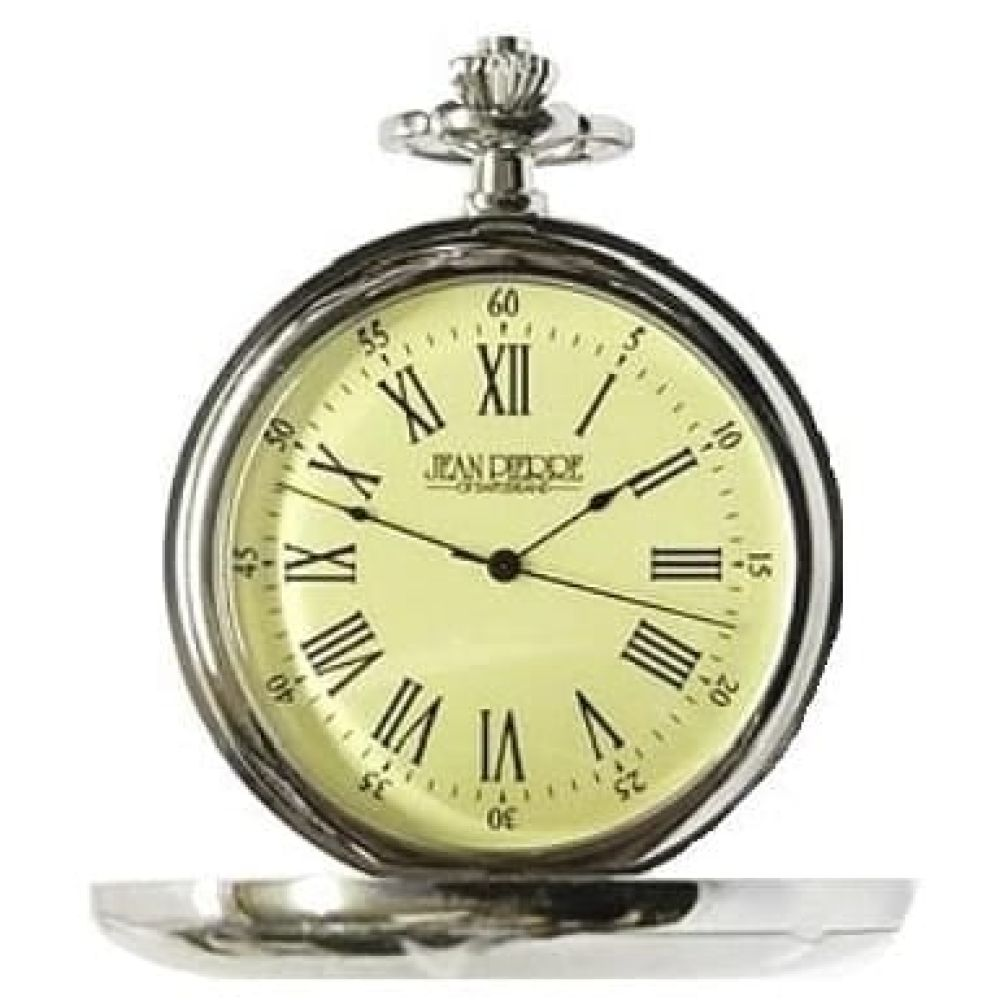 Half Hunter Pocket Watch With Pouch & Stand