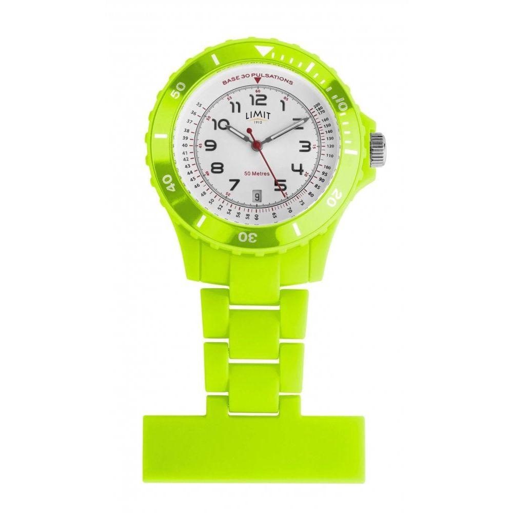 Green Resin Nurse Fob Watch