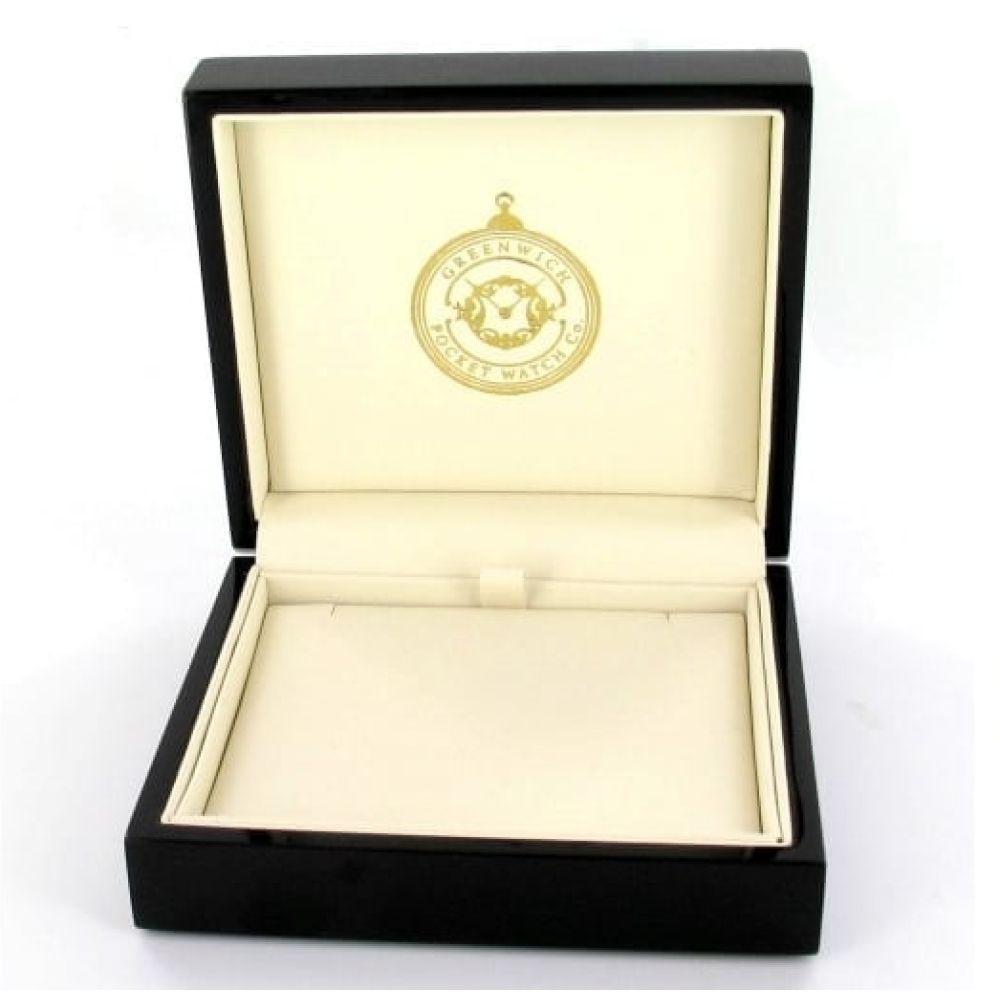 Greenwich Pocket Watch Company Presentation Box & Velvet Pouch
