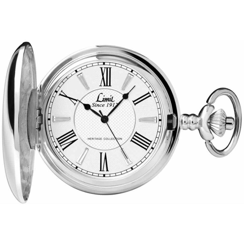 Exlusive Chrome Pocket Watch