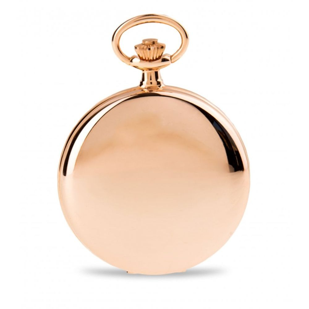 The Blenheim - Rose Gold Quartz Full Hunter Pocket Watch