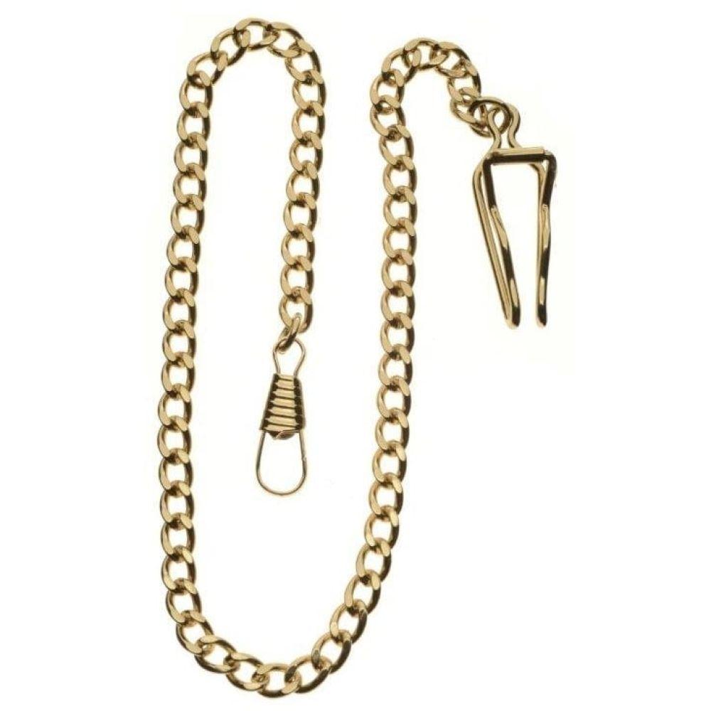 Gold Tone Full Hunter Swiss 17 Jewel Mechanical Pocket Watch With Masonic Dial