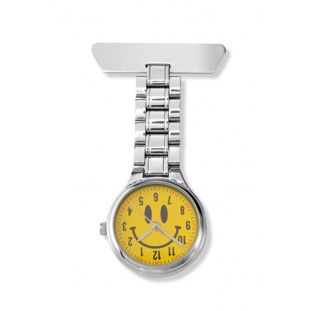 Fob Watch With Smile Face Dial