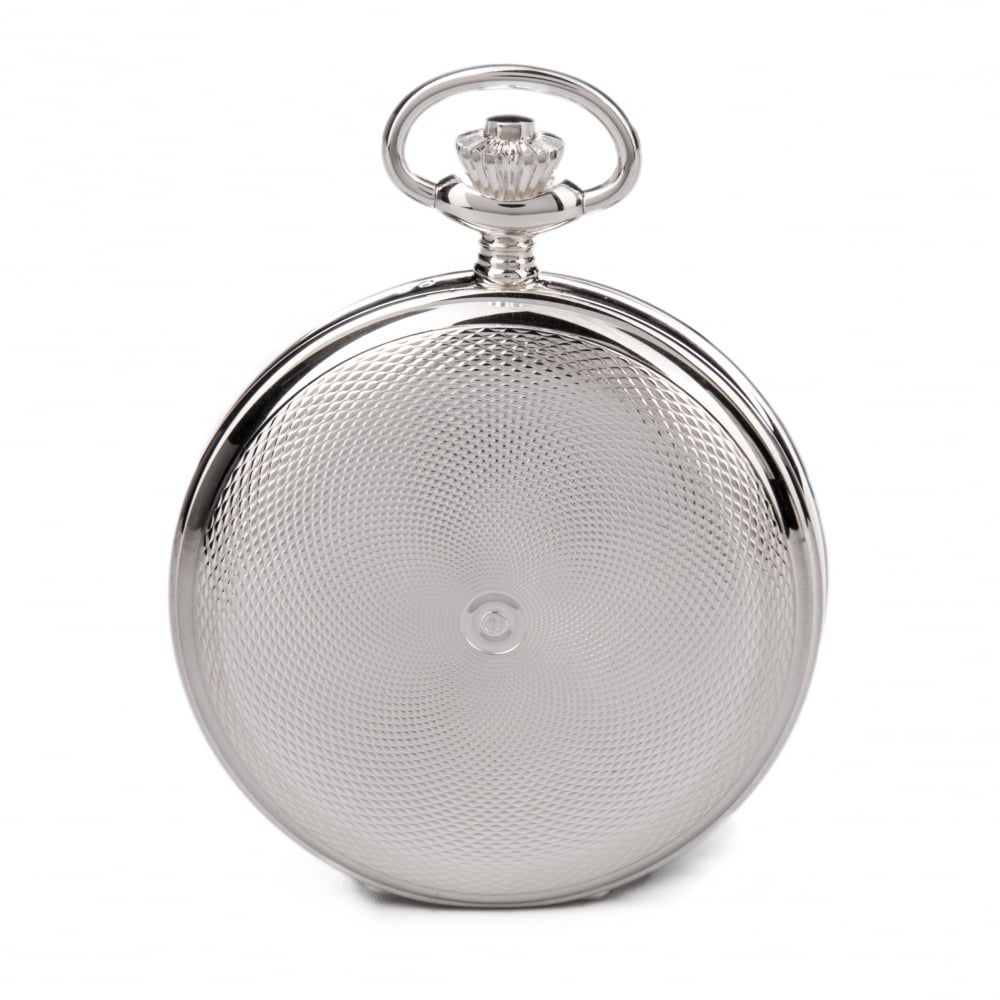 Sterling Silver Double Hunter Mechanical Pocket Watch