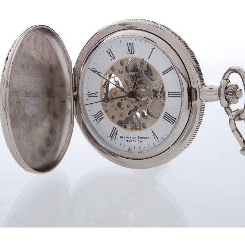 The Lambeth - Open Back Mechanical Full Hunter Pocket Watch