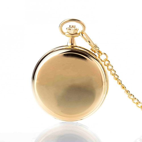 The St James - Gold Mechanical Double Hunter Pocket Watch