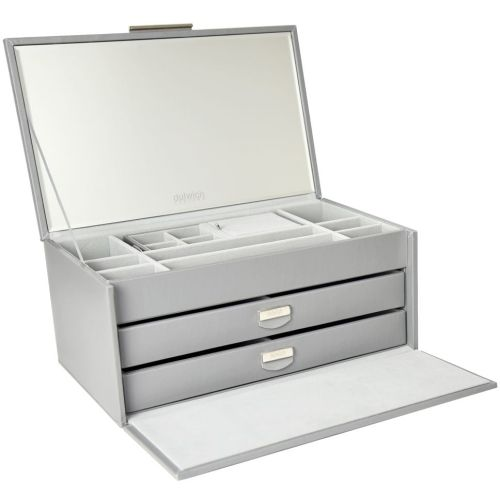 Malmo Grey Large Jewellery Box