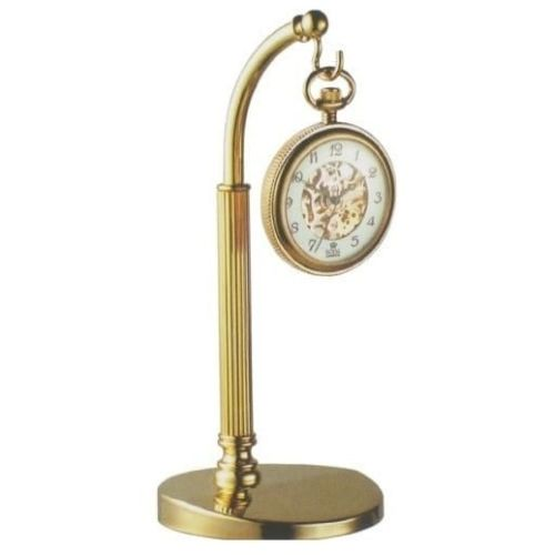 Gold Plated Pocket Watch Hook Stand