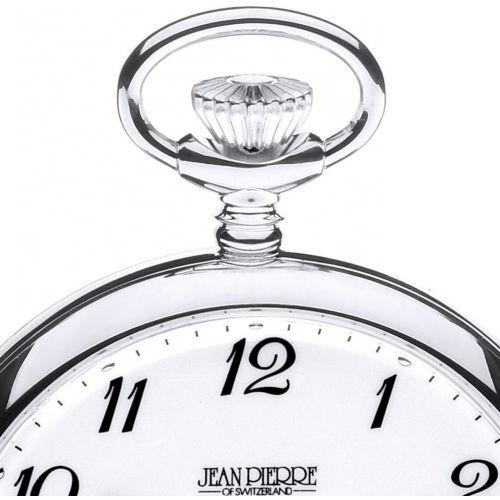 Sterling Silver Mechanical Open Face Pocket Watch