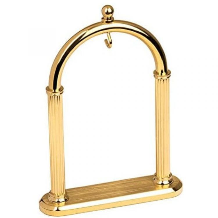 Gold Plated Arch Pocket Watch Stand