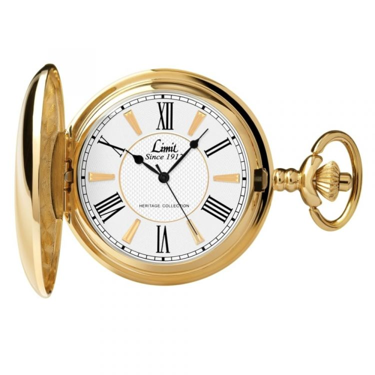 Limit Exclusive Gold Pocket Watch